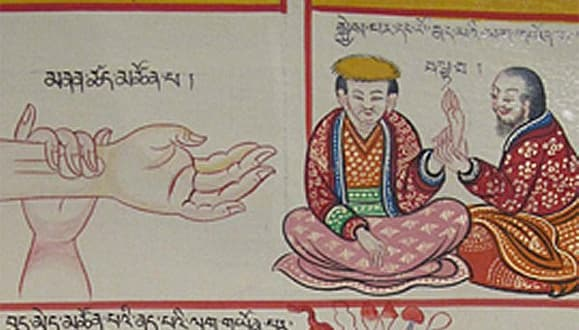 image showing arm and chinese medicine